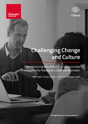 Challenging change and culture