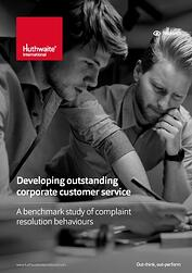 Developing outstanding customer service