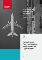 Improving negotiation performance in Logistics