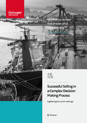 Successful selling in the Logistics industry